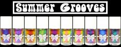GlitterDaze Summer Grooves Collection- 10 multichrome nail polish shades!