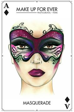 Make Up For Ever #Halloween Look - Masquerade