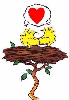 Woodstock in love