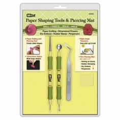 Paper Shaping Tools & Piercing Mat McGill's new paper shaping tool !!!