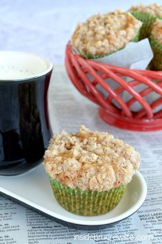 Biscoff Apple Muffins