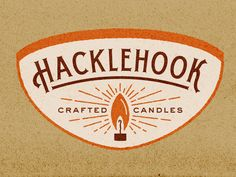 Hacklehook Candle Co.   Logo 2 by Ryan Doggendorf
