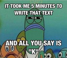 funny spongebob | Trolling Level: Text Message funny-SpongeBob-fish-angry – ActionBash