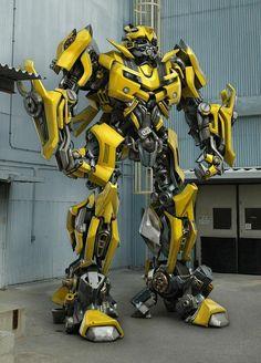 ben procter, robots, onlin portfolio, front yards, car parts, bumble bees, kid, jumping jacks, transformers bumblebee