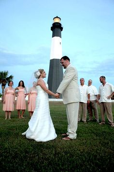 Tybee Island lighthouse wedding. This is what my betrothed wants, a lighthouse wedding.