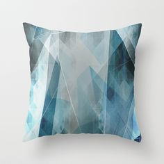 """""""Solitude"""" Throw Pillow by Cullen Rawlins on Society6."""