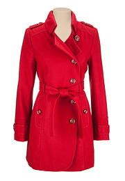 Belted Military Coat