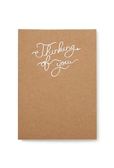 Thinking of You Notepad | FOREVER21 - 1000118500