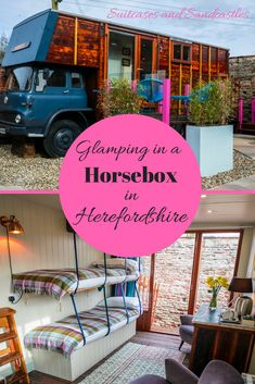 Glamping in a Horseb