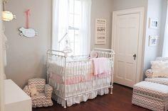 sweet nurseri, white nurseri, girl nurseri