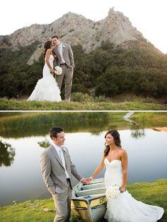 Love the natural.setting. Mountain wedding photo. Jen Rodriguez. I LOVE nature photos