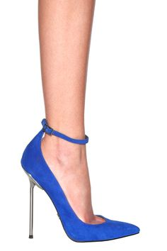 Monika Chiang Zinc D'orsday Pump in Cobalt  $395