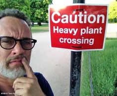 Even Tom Hanks is confused by this… (find more funny signs at funnysigns.net)