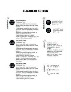 Graphic Cv Resume On Pinterest Resume Design Resume