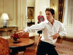Hugh Grant in Love, Actually  I'm obsessed