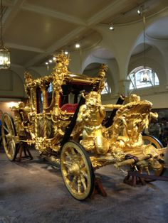 The Royal Mews.  Go and visit the Queen's horses and some of her fine coaches.
