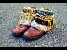 DIY Boho Boots