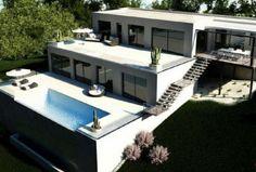 Minimalist Luxury Villa : Ibiza Town : Ibiza Property Sales | Balearics Estates