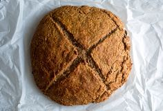 Recipe: Whole wheat Irish soda bread with bulgur || Photo: Andrew Scrivani for The New York Times