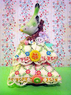 Bird Pin Cushion | Flickr - Photo Sharing!