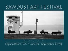 Art Print from the Sawdust Festival in Laguna Beach, California. All local artists, all summer long!