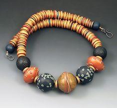 Necklace   Loretta Lam. Polymer Clay