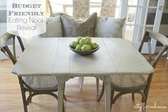 Create Style Without Breaking The Bank-New Eating Nook Reveal