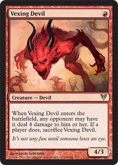 Magic The Gathering MTG Vexing Devil Avacyn Restored Condition: NM/M RARE $9.99