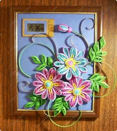 *QUILLING ~ квиллинг quilled flower arrangment
