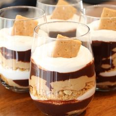 . Chocolate Peanut Butter Parfait Recipe from Grandmothers Kitchen.
