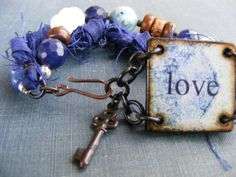 Love Tile Bracelet designed by Jennifer of SoulsFireDesigns