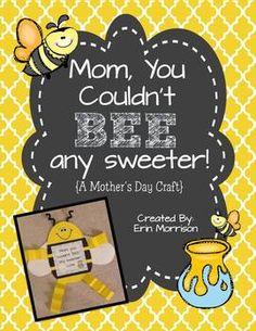 ador mother, bees craft preschool, bees crafts preschool, bee kids craft, mother theme preschool, preschool classroom crafts, mothers day crafts, mom, classroom craft ideas