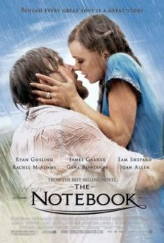 Films with fashion influence - 2004 The Notebook poster