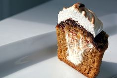 s'more cupcake? yes, please.