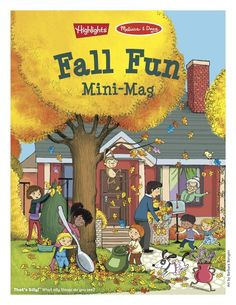Get Heartwarming Crafts and Activities the Whole Family Will Enjoy!Download the Fall Fun Mini-Mag, from Highlights and Melissa & Doug!