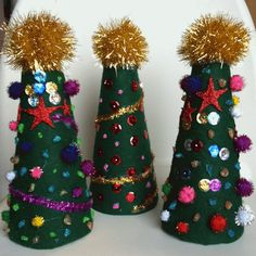 Rockabye Butterfly: 3D Christmas Tree Craft!