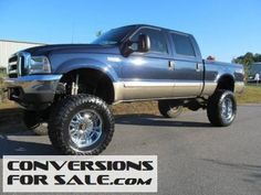 2003 Ford F-250 Super Duty Lariat Lifted Truck
