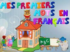 """""""Mes premiers mots en français"""" Premiers éléments de vocabulaire. Présentation multimédia, diverses activités (première partie)"""
