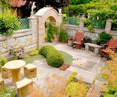 Bonus Tip: Create Separate Seating Areas       http://www.bhg.com/home-improvement/patio/patio-planning-step-by-step/#page=10