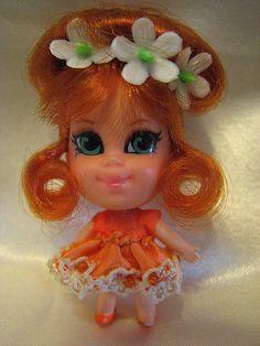 Liddle Kiddles: Orange Blossom Kologne Kiddle - 1969-1970