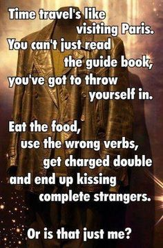 favorit doctor, doctor who quotes, visit pari