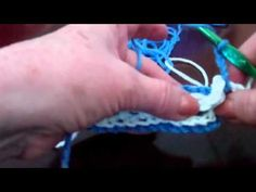 Step 2: Instructions for dcib or Back Stitch. Description of how to crochet an Interlocking Crochet™ Back Stitch or dcib, one of the main stitches used to create a reversible fabric.