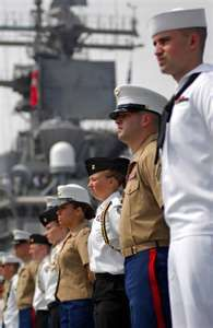 Marines and Navy