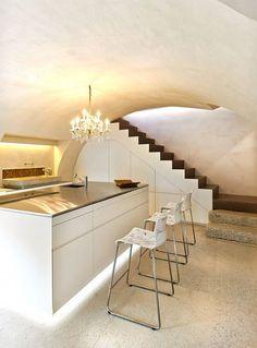 casas : Escaleras en Casas Contemporáneas