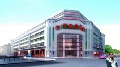 """Transformation of the """"C35"""" garage into a hotel, retail, offices & restaurant - Lyon"""