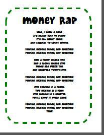 dollar bill worksheets