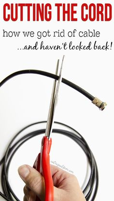 We don't have cable, but there are some great tips about using an antenna and having it work for every TV in your home!