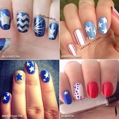 Some star-spangled inspiration comin' atcha! Show us your own patriotic looks using #SephoraNailspotting on Instagram!