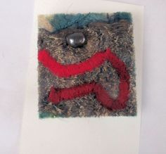 another textile brooch, this time with a freshwater pearl... https://www.etsy.com/uk/listing/179288470/fiber-art-brooch-needle-felted-and?