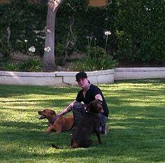 John and dogs is life taken from John's instagram